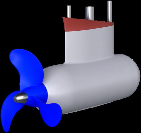 fixed pod motor