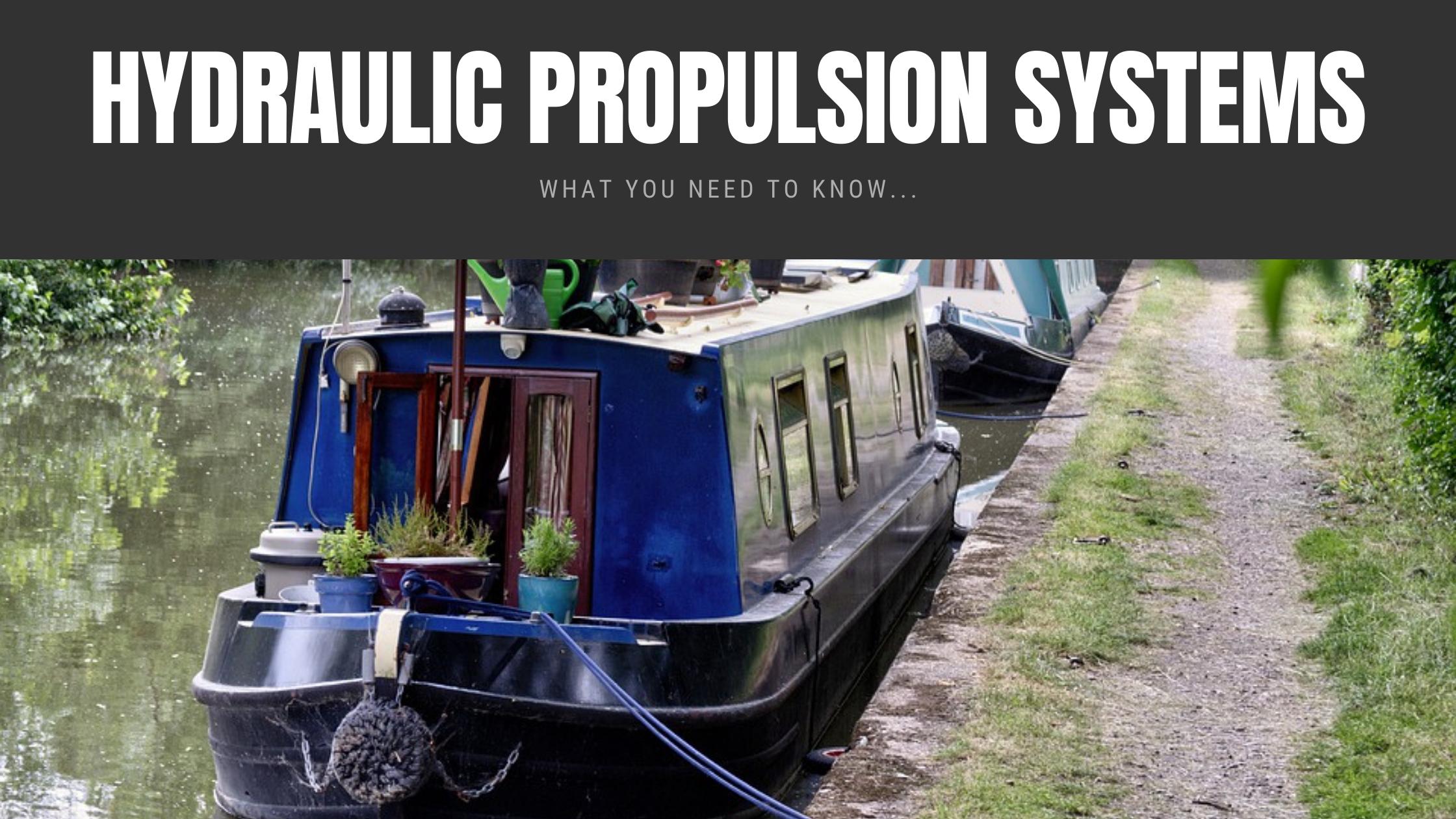 Hydraulic Propulsion Systems Narrowboats