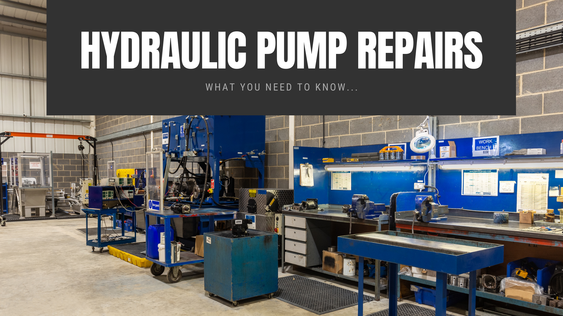 Hydraulic Pump Repairs Yorkshire