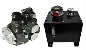 hydraulic propulsion - hydraulic pump and tank